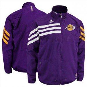 comprando ahora nueva llegada los mejores precios adidas-Chaqueta de chándal, diseño de LOS Angeles Lakers ...