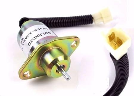 17454-60010 1503ES-12A5UC5S 12V Fuel Stop Solenoid For Kubota BX2200 D1005 V1305
