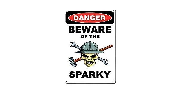 BEWARE of  SURFERS Aluminum 8x12 Metal Novelty Vintage Reproduction Danger Sign