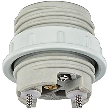 4pack White E26 E27 Light Socket Pendant Lamp Holder For Lamp Socket And Fixture Replacement