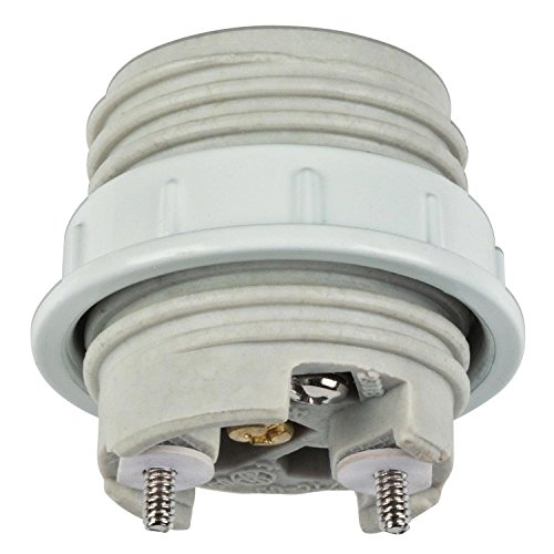 Westinghouse 7001000 Porcelain Threaded Socket with Metal Shade (Porcelain Light Socket)