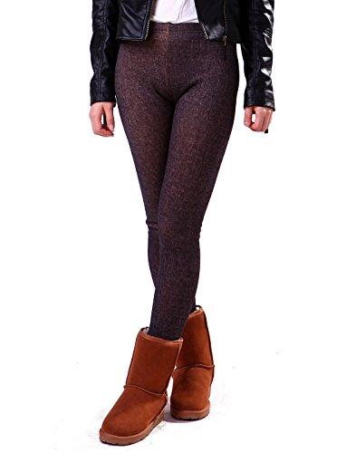 Insulated Denim Pants - 5