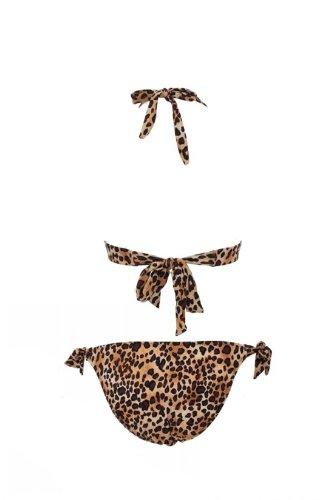 Victoria Sexy Women's Push Up Bandeau Top Bikini Swimsuit Beachwear Tankini M