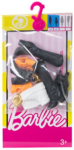 Barbie Accessories Original & Petite Doll Shoe Pack (Barbie Doll Shoes)