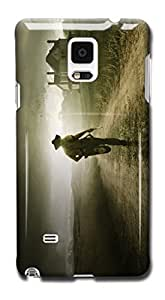 Tomhousomick Custom Design The Walking Dead Case for Samsung Galaxy Note 4 Phone Case Cover #99