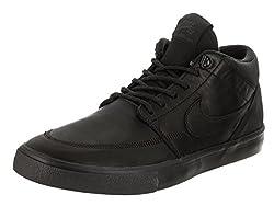 Nike Men's Sb Portmore Ii Solar Md P Blackblackanthracite Skate Shoe 10 Men Us