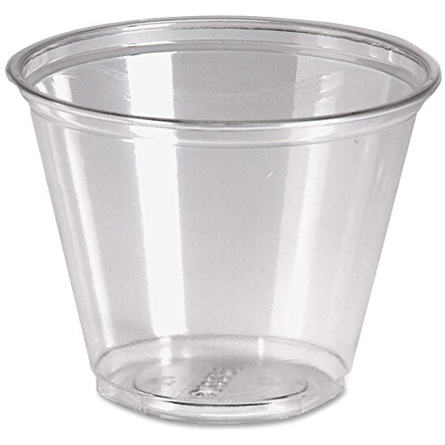 Dixie Crystal Clear Cup (Dixie CP9ACT Cold Drink Cups, 9 oz, 1000/CT, Clear Plastic)
