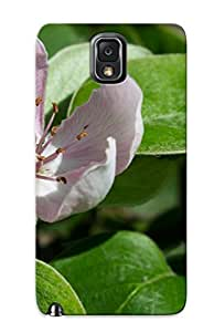 Chistmas' Gift - Cute Appearance Cover/tpu MXxABRG2886AprtA Quince Blossom Case For Galaxy Note 3