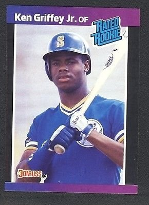 1989 Donruss 33 Ken Griffey Jr Rookie Card Gem Mint At