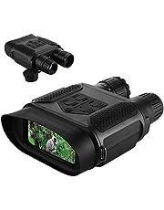 """Lixada 7x31 Tag/Nacht Vision Fernglas Digital Infrarot Nachtsichtgerät Foto Kamera & Video Recorder 400m / 1300ft Reichweite 2"""" LCD-Bildschirm"""