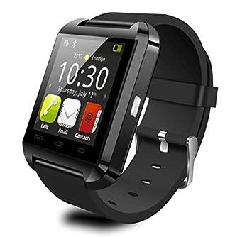 Montre Connecter U8 Bluetooth Smart Watch androï Fonction Lalarme Anti - Perdu Altimètre Noir