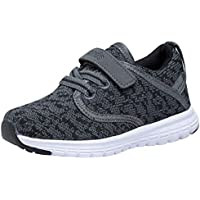 COODO Toddler Kid's Sneakers Boys and Girls Cute Casual Running Shoes