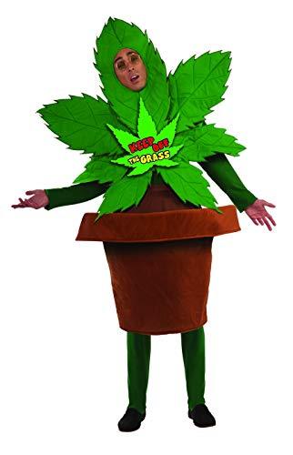 Keep Off The Grass Marijuana Adult Costume ()