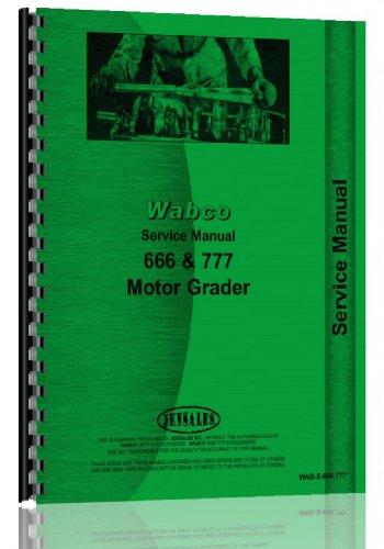 Wabco Motor Grader Service Manual (WAB-S-666 777)