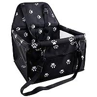 Gloryelenxs Waterproof Pet Dog Puppy Cat Carrier Safe Carry Bag Basket Kitten Car Travel Blanket