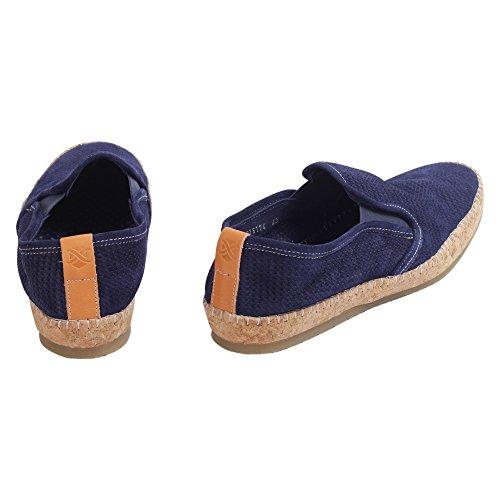 Brimarts Slip On Sneakers Uomo 316174SE311626EST1 Pelle Blu