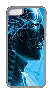 iPhone 5C Case, iPhone 5C Cases - Human Science Polycarbonate Hard Case Back Cover for iPhone 5C¨C Transparent