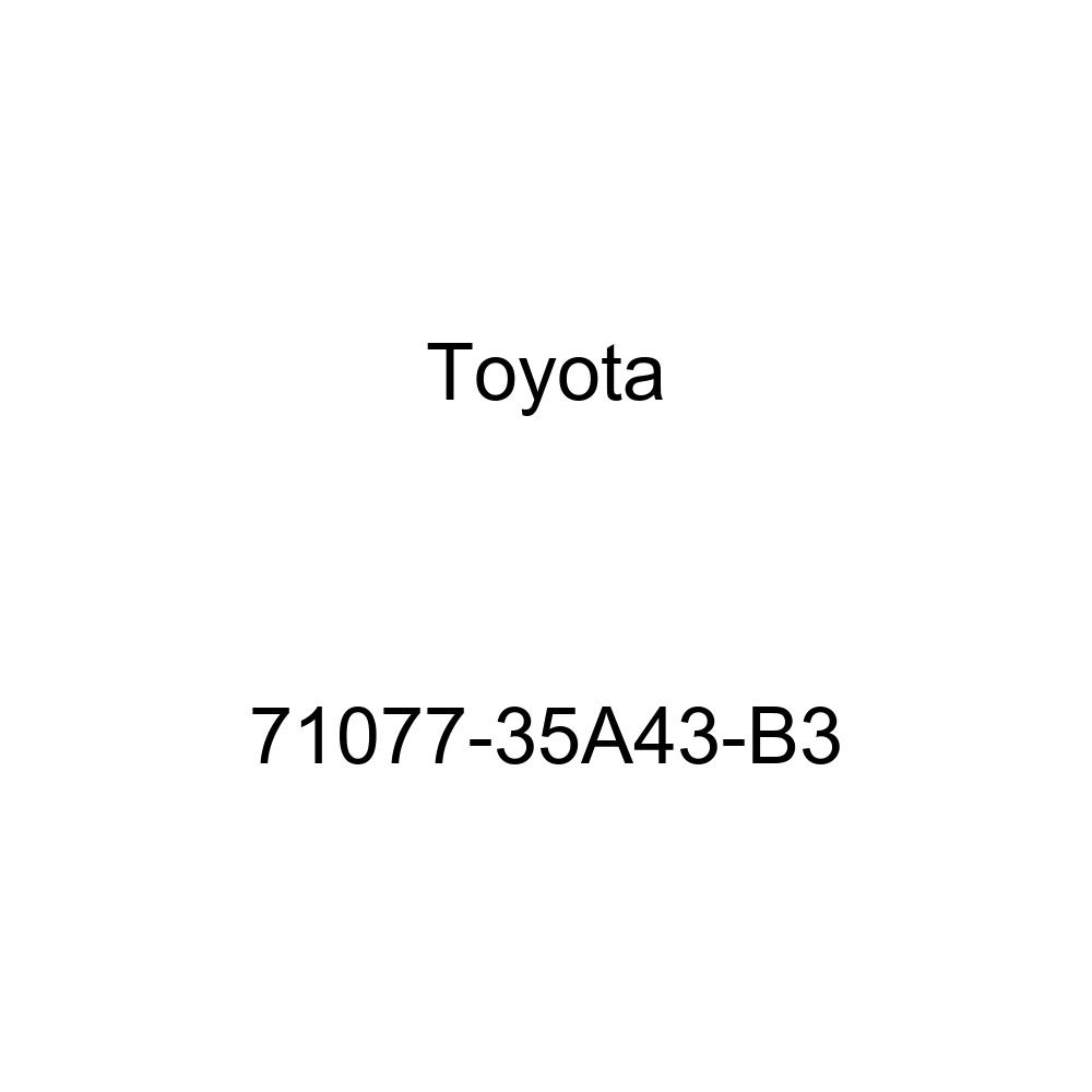 TOYOTA Genuine 71077-35A43-B3 Seat Back Cover