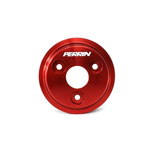 Perrin 2015 Subaru WRX Lightweight Water Pump Pulley - Red (psp-eng-111rd)