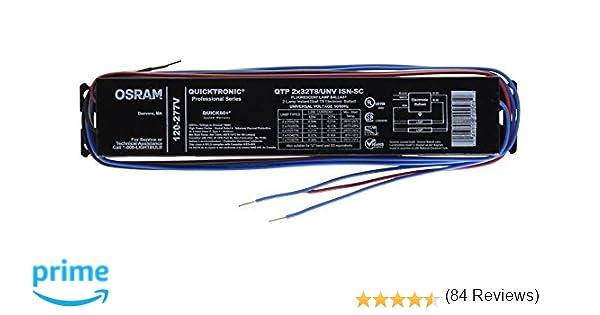 sylvania qtpxt unv isn sc b t fluorescent ballast sylvania 49906 qtp2x32t8 unv isn sc b t8 fluorescent ballast electrical ballasts com