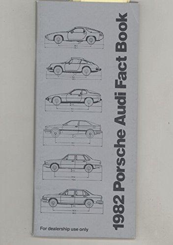 1982 Porsche 911 928 924 Audi Coupe 4000 5000 US Salesmans Book ()