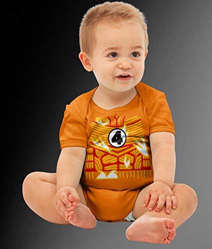 Baby Torch Superhero Costume Bodysuit -