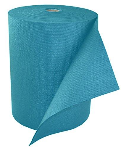 YogaAccessories 1/8'' Classic Yoga Mat Roll (103 feet) - Light Blue