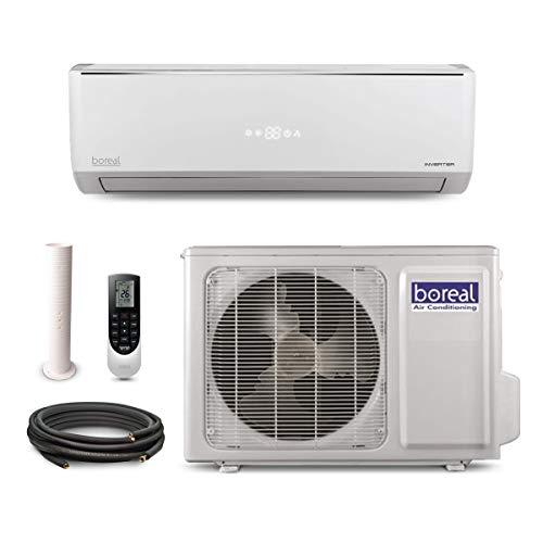 boreal EQX12HPJ1SB - 12,000 BTU 22 SEER Equinox Wall Mount Ductless Mini Split Air Conditioner Heat Pump 208-230V -