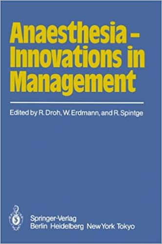 Book Anaesthesia ― Innovations in Management