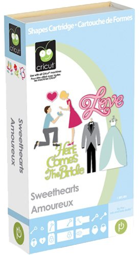 Cricut Cartridge, Sweethearts