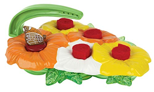 Butterfly Feeder Kit - Garden Toy Includes Nectar Reservoirs, Butterfly Landing Pads, and Red Nectar Wicks