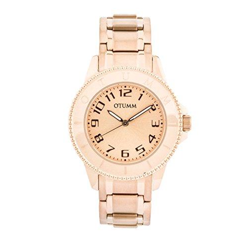 Otumm Ibiza Señora Oro Rosa 002 38mm Señora Ibiza Reloj: Amazon.es: Relojes