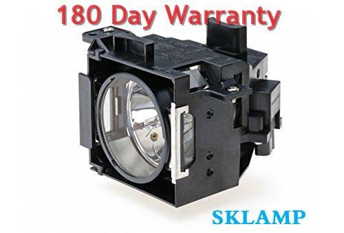 Sklamp ELP-LP30 / V13H010L30 Replacement Lmap Bulb with Housing for Epson EMP-61 EMP-81 EMP-81+ EMP-821 Projectors