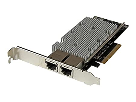 StarTech ST20000SPEXI - Tarjeta Adaptador de Red PCI Express Ethernet 10GBase-T con 2 Puertos RJ45 Chipset Intel x540