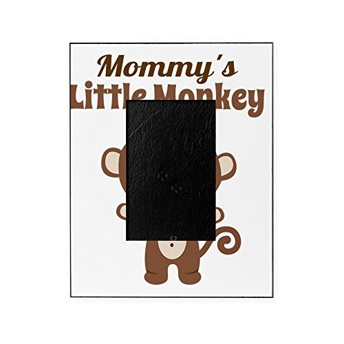 CafePress - Mommys Little Monkey Picture Frame - Decorative 8x10 Picture Frame ()