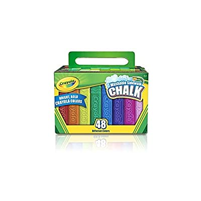 Crayola Washable Sidewalk Chalk: Home & Kitchen