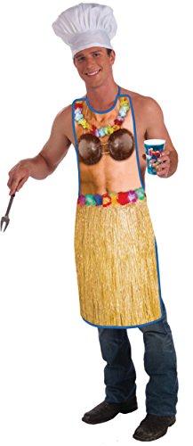 Forum Novelties Hawaiian Skirt Apron