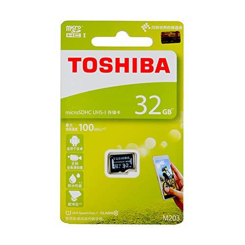 Toshiba M203 Micro SD Card UHS-I 32GB Tarjeta gráfica ...