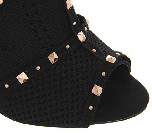 Black Life Office High Boot Studs With Shoe Knitted rUUYP5xwq
