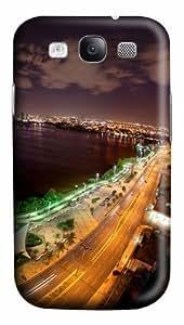 One night in city Custom Samsung Galaxy I9300/Samsung Galaxy S3 Case Cover Polycarbonate 3D