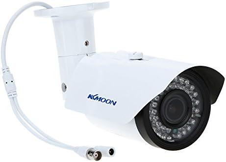 Kkmoon Überwachungskamera 2 8 12mm 1200tvl 1 3 Zoll Sony 42 Ir Outdoor Wasserdicht Zoom Cctv Kamera Überwachungskamera Baumarkt