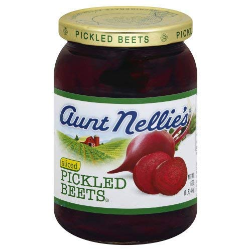 Aunt Nellie's Sliced Pickled Beets, 16 oz (Pack of 2)