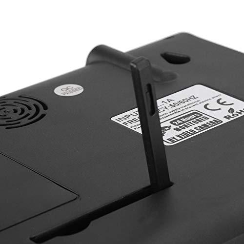 "Monitor Camera,Video Monitor 7""Pantalla táctil de Alta definición Monitor de Video inalámbrico Cámara Sistema de vigilancia Nocturna Audio de 2 vías(US)"