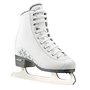 Bladerunner Ice by Rollerblade Aurora Women's Adult Figure Skates, White, Ice Skates