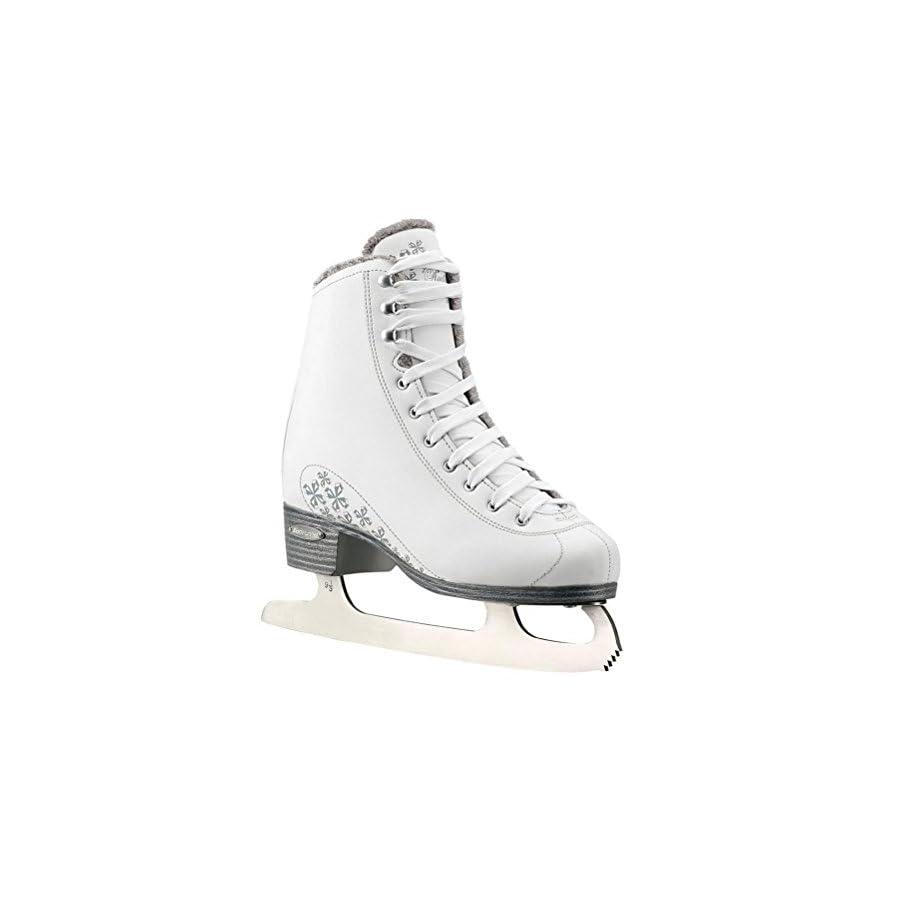 Bladerunner Ice by Rollerblade Aurora Women's Adult Figure Skates, White, Ice Skates