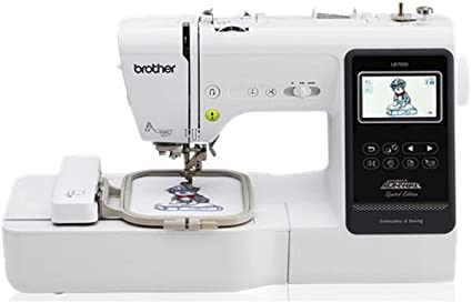 Brother LB7000 - Máquina de coser y bordar: Amazon.es: Hogar