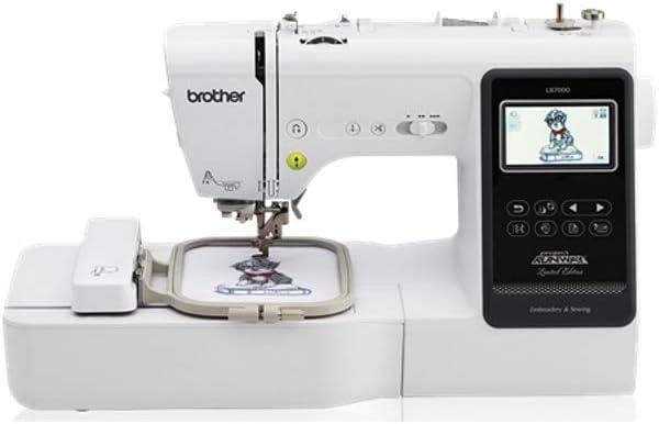 Brother LB7000 - Máquina de coser y bordar: Amazon.es: Hogar
