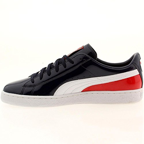 Puma Heren Basket Klassieke Patent Sneakers Meerkleurig