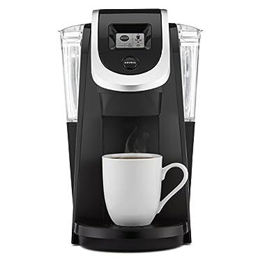 Keurig K250 Single Serve, Programmable K-Cup Pod Coffee Maker with strength control, Black