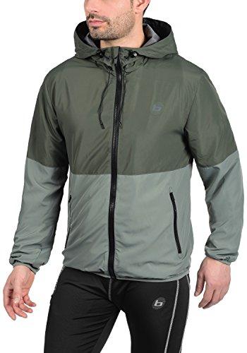 Grey entretiempos Minato BLEND chaqueta 75112 para hombre de Raven ATHLETICS x84IqgZ